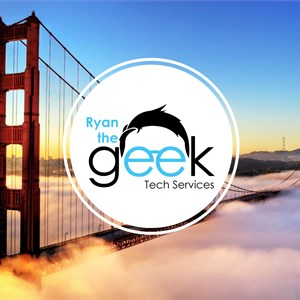Ryan the Geek Tech Services Logo