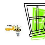 Busy Bugs Window Cleaning Logo