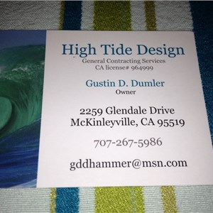 High Tide Design Cover Photo