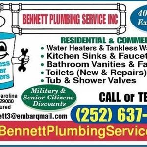 Bennett Plumbing Service, Inc. Logo