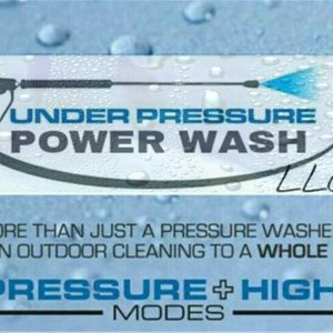 Under Pressure Power Wash LLC Logo