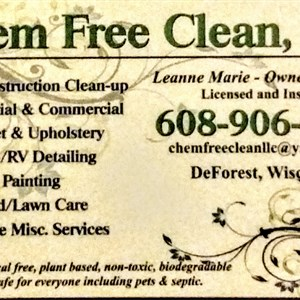Chem Free Clean Logo