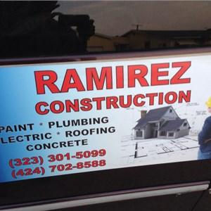 Ramirez Construccion Logo