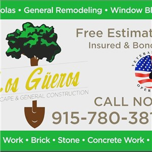 Los Gueros Landscaping & General Construction Logo