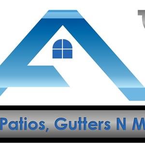 A-1 Patios Gutters N More Logo