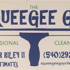 Squeegee Guy Professional Cleaning Logo