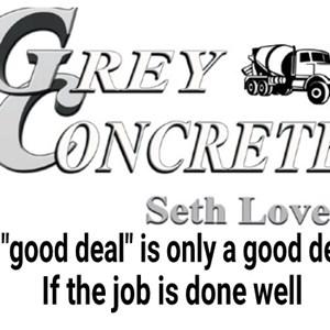 Grey Concrete Cover Photo