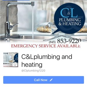 C&l Plumbing And Heating Logo