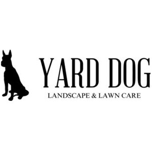 Yard Dog: Landscape & Lawn Care Logo