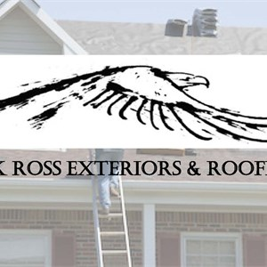 Rick Ross Exteriors and Roofing Logo
