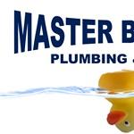 Master Blaster Plumbing Drain Logo