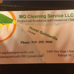 MQ Cleaning Service Logo