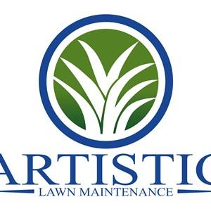 Artistic Lawn Maintenance Logo