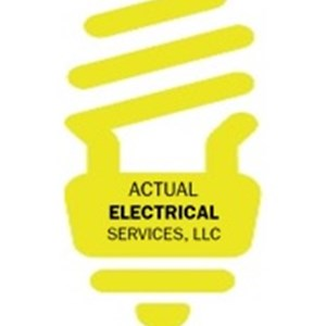Actual Electrical Services LLC. Logo