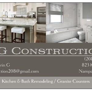 DG Construction & Remodeling Logo