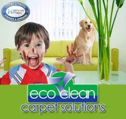 Eco Clean Carpet Solutions Logo