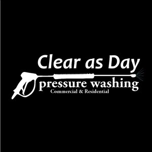 Clear As Day Pressure Washing Logo