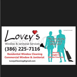 Loveys Window and Janitorial Services Cover Photo