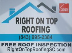 Right On Top Roofing Logo