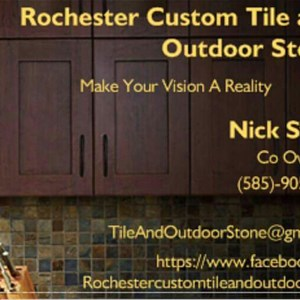 Rochester Custom Tile & Outdoor Stone Logo
