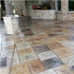 Dallas Stamped Concrete Logo