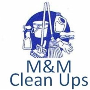 M&m Clean Ups Logo