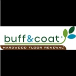 Buff and Coat Hardwood Logo