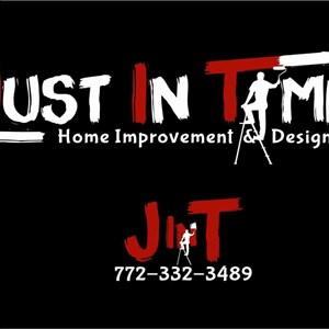 Just In Time Home Improvement & Design LLC  Interior & Exterior Painting Logo