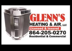 Glenns Heating & Air Logo