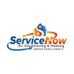 Service Now Air Conditioning And Heating LLC service when u need it Logo