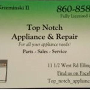 Top Notch Appliance Logo