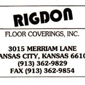 Rigdon Floor Coverings Logo