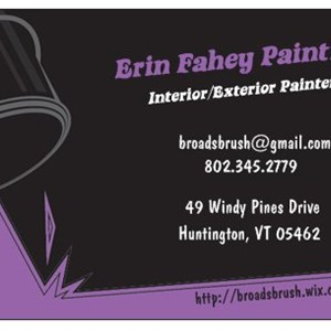 Erin Fahey Painting Cover Photo