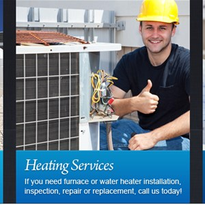 Lawsons Degree of Comfort Heating and Air Conditioning Logo