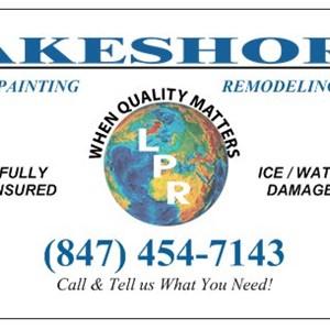 Lakeshore Painting & Remodeling Logo