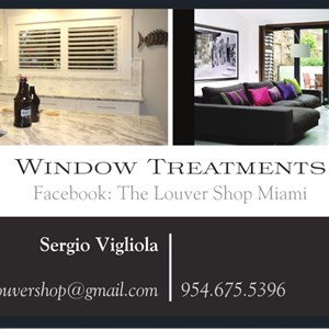 The Louver Shop Of Miami Logo