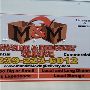 M & M Moving & Delivery Logo
