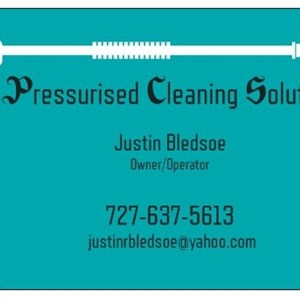 Pressurised Cleaning Solutions Logo