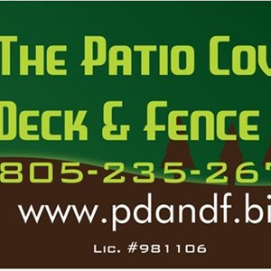 The Patio Cover Deck And Fence Co. Logo