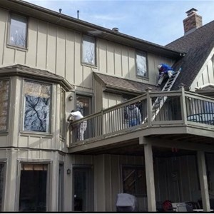 S&P House Painting Specialists Logo