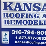 Kansas Roofing And Remodeling Logo