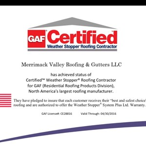 Andover Roofing & Gutters Logo