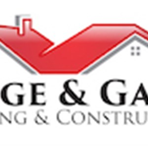 Ridge & Gable Roofing & Construction Logo