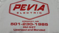 Pevia Electric Logo