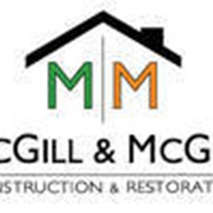 Mcgill&mcgill Construction And Restoration Logo