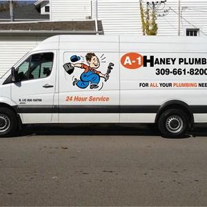 A-1 Haney Plumbing & Drain Logo