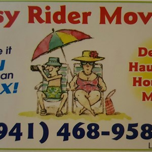 Easy Rider Moving Logo