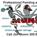 Jim Munro Painting & Repairs Logo