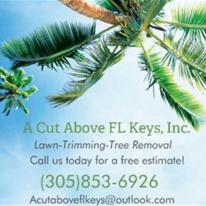 A Cut Above FL Keys, Inc. Logo