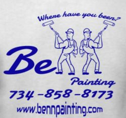 Benn Painting.llc Logo